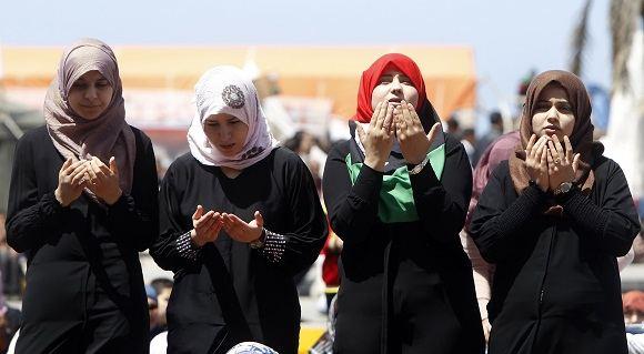 AFP/Scanpix nuotr./Libijos moterys