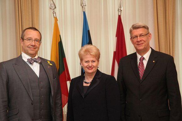 Baltijos ša;ių vadovai