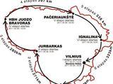 Organizatorių iliustracija/Maratono žemėlapis