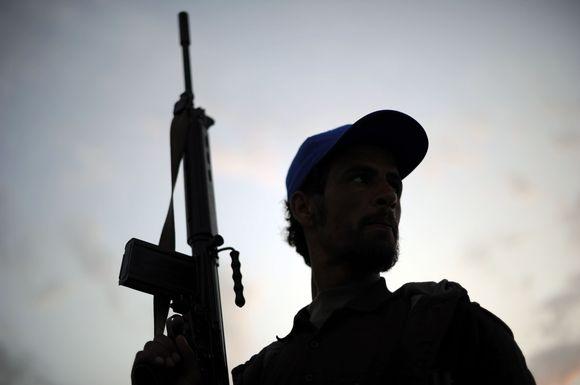 Kovotojas Libijoje