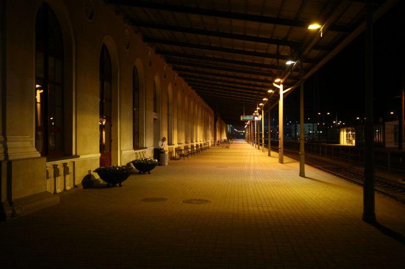 Stotis Vilniuje naktį
