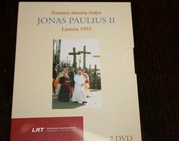"""DVD """"Šventasis žmonių širdyse"""""""