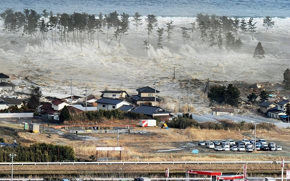 Reuters/Scanpix nuotr./Natori miestas 2011-ųjų kovo 11 dieną