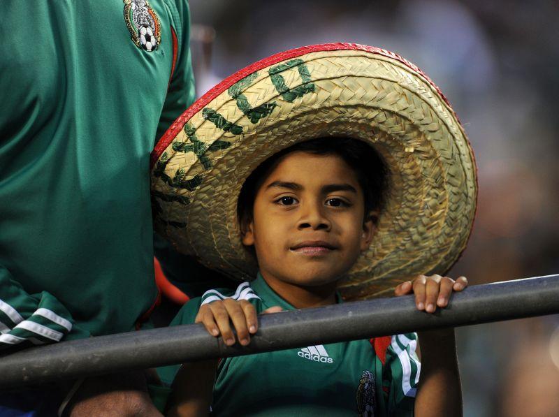 Meksikos rinktinės gerbėjas