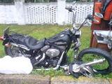 15min.lt skaitytojo nuotr./Sudaužytas vokiečio motociklas