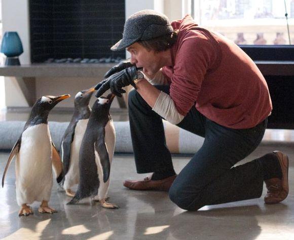 """Filmas """"Pono Poperio pingvinai"""""""