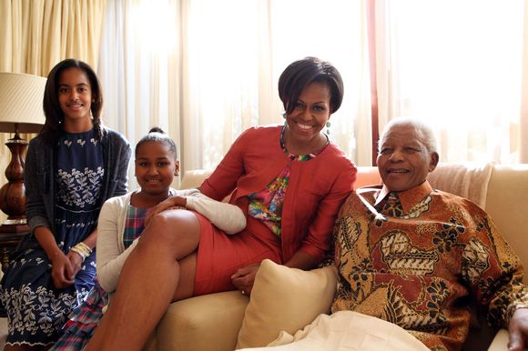 Michelle Obama su Nelsonu Mandela