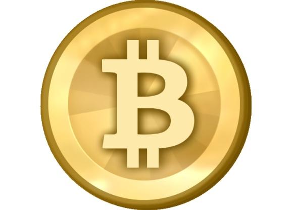 Virtualios valiutos bitkoino logotipas