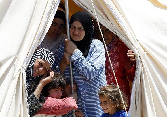 Reuters/Scanpix nuotr./Sirijos pabėgėliai
