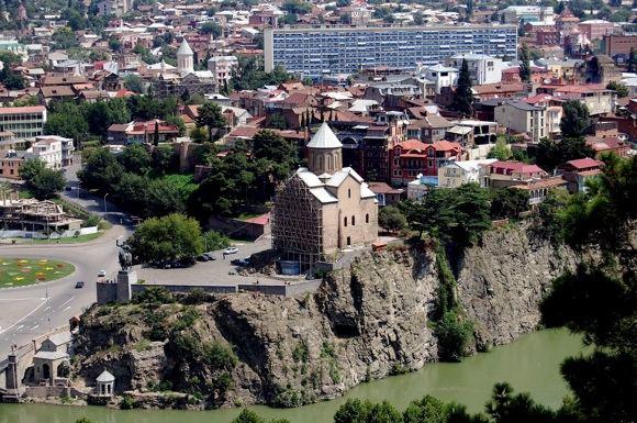 R.Jegorovos nuotr./Tbilisio panorama