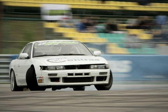 Andriaus Lauciaus nuotr./Evaldas Kovalenka, Nissan Silvia S13