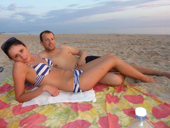 15min.lt skaitytojų nuotr./Bikini porelė: Kęstutis ir Aurelija