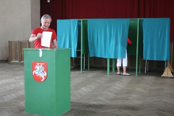 Seimo narį klaipėdiečiai rinko itin pasyviai.