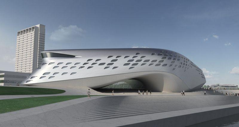 Guggenheimo muziejus (Z.Hadid projektas)