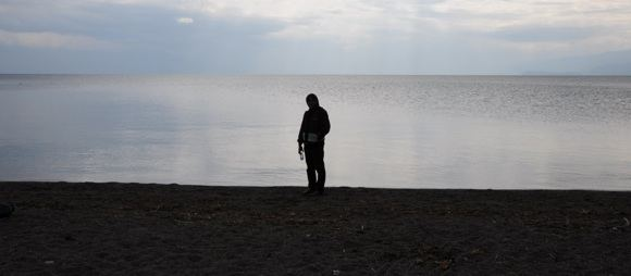 T.Marcinkevičiaus nuotr./T.Marcinkevičius prie Ohrido ežero.