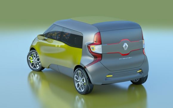 Gamintojo nuotr./Renault Frendzy