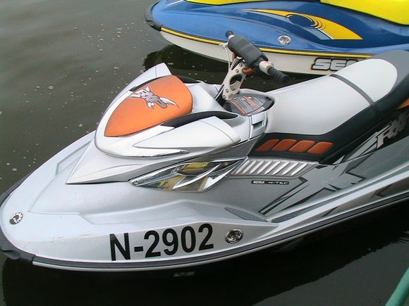 VSAT nuotr./Vandens motociklas