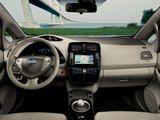 "Gamintojo nuotr./""Nissan Leaf"" – pirmasis GAZAS.LT išbandytas elektromobilis"