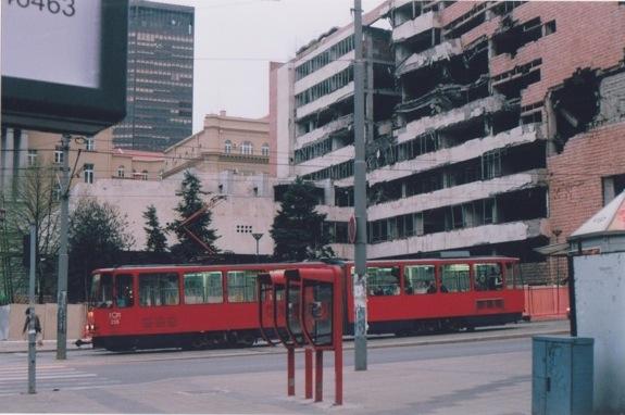 K.Dambrausko nuotr./Belgrado žaizdo matomos dar ir aiandien