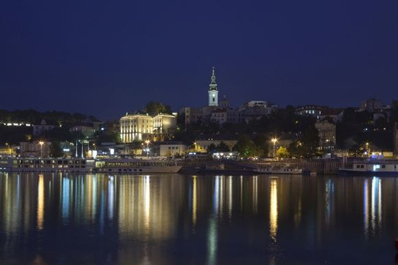123rf.com nuotr./Belgradas naktį.