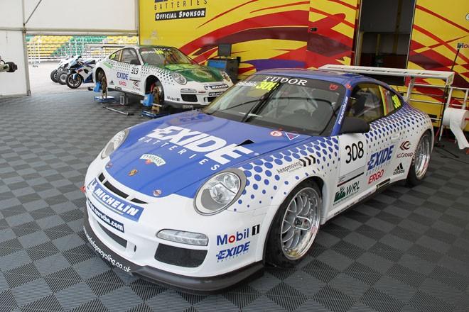 """Jono Gelžinio automobilis """"Porsche 911 GT3 Cup"""""""