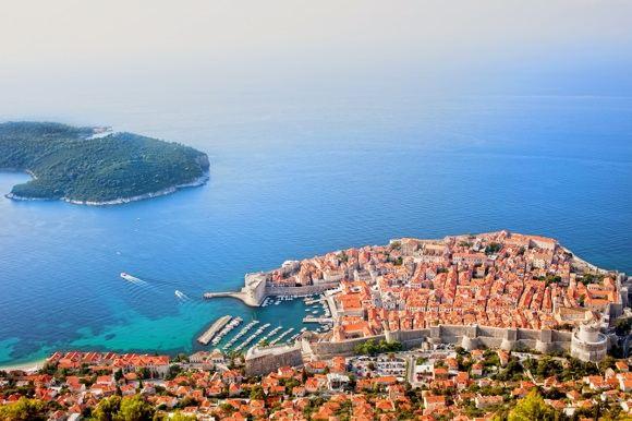 123rf.com nuotr./Dubrovnikas - Kroatijos turizmo centras.