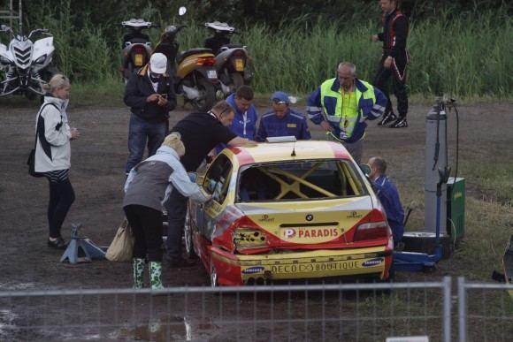 Tomo Digaičio/GAZAS.LT nuotr./Rotoma Racing BMW M3 žada gįžti į lenktynes