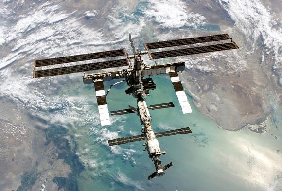AFP/Scanpix nuotr./Tarptautinė kosminė stotis