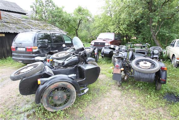 Antikvariniai motociklai