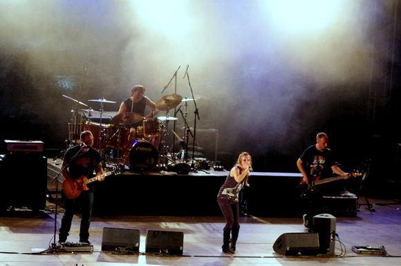 Linos Pankratjevaitės nuotr./Svarbiausių festivalio svečių Guano Apes koncertas