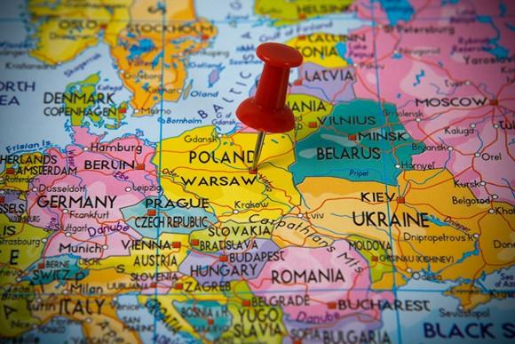 Iš Varšuvos į Krokuvą