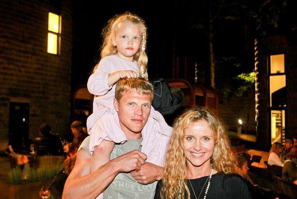 Irmanto Gelūno/15min.lt nuotr./Edita Daniūtė su vyru Mindaugu ir dukra Evita