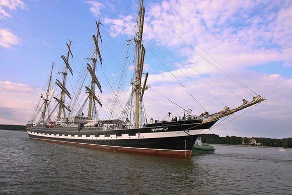 BFL nuotr./Kruzenshtern mokomasis burinis laivas