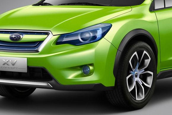 Gamintojo nuotr./Subaru XV Concept