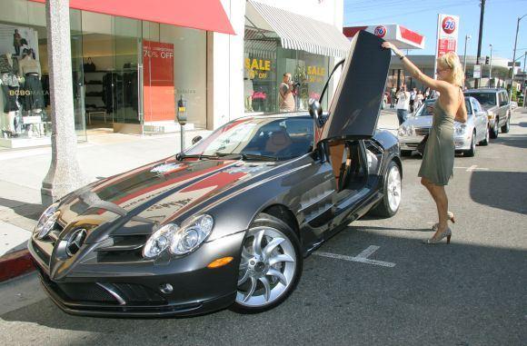 """Bulls nuotr./""""Mercedes-Benz SLR McLaren"""""""