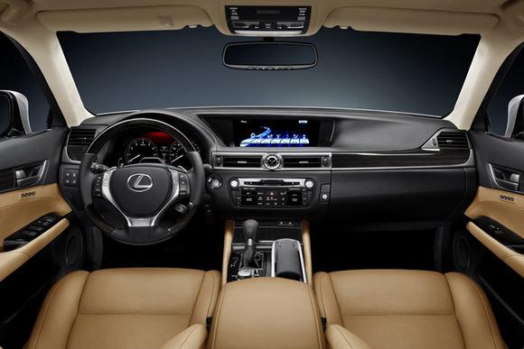 Gamintojo nuotr./2012-ųjų Lexus GS
