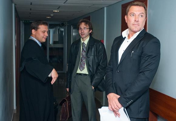 Marius Gelažnikas (dešinėje)