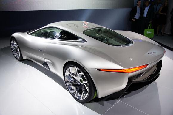 Gamintojo nuotr./Jaguar C-X75