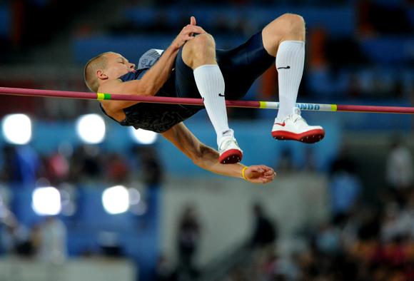 Pasaulio vyrų lengvosios atletikos čempionatas: vyrų šuoliai į aukštį