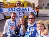 l.Tubio nuotr./Į Alytų iš viso atvyko apie 80 Suomijos rinktinės sirgalių..jpg