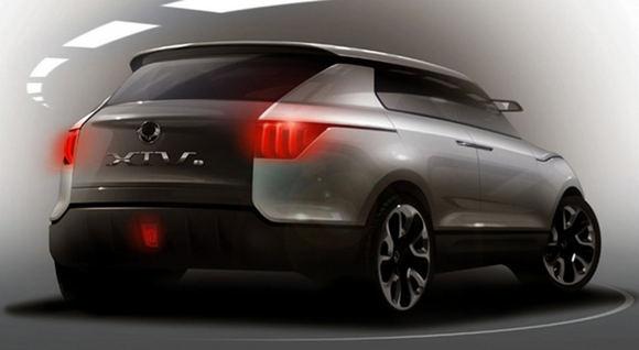 Gamintojo nuotr./SsanYong XIV-1 Concept