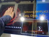 """15min.lt nuotr./Viryklė """"Samsung CT1613GIN"""" pati nustato, kurioje vietoje ir kokio dydžio daiktas padėtas, ir kaitina tik tą vietą."""