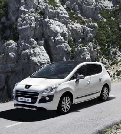 """Peugeot 3008 HYbrid4"""