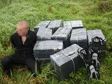 VSAT nuotr./Paskutis cigarečių kontrabandininkas, sulaikytas Viešvilės pasieniečių