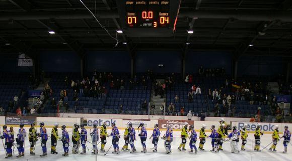 Organizatorių nuotr./HC Baltica rezultatu 7:4 sutriuakino Zelenograd