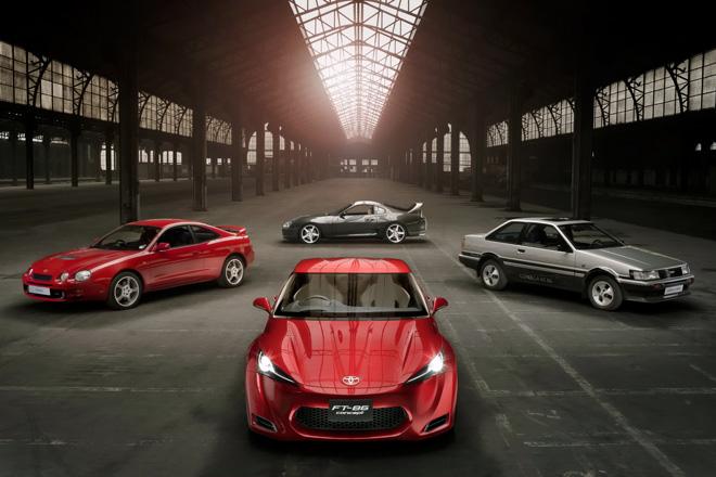 """Kultiniai sportiniai """"Toyota"""" modeliai"""