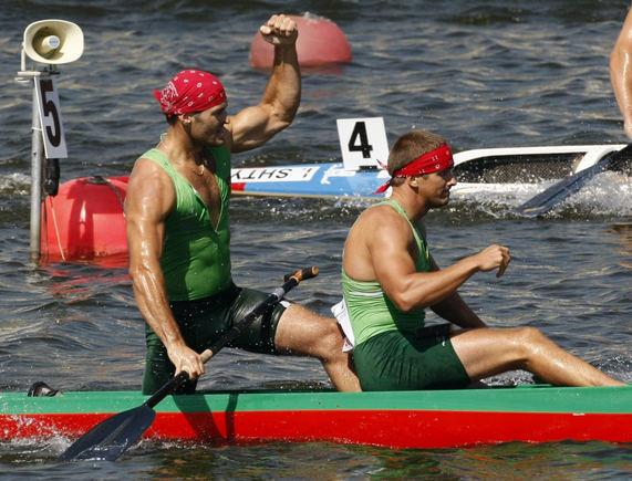 AFP/Scanpix nuotr./Raimundas Labuckas ir Tomas Gadeikis