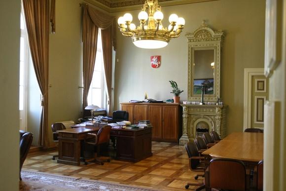 Lietuvos banko būstinėje