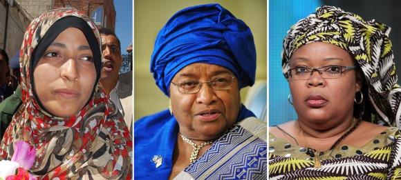 Nobelio premijos laureatės.