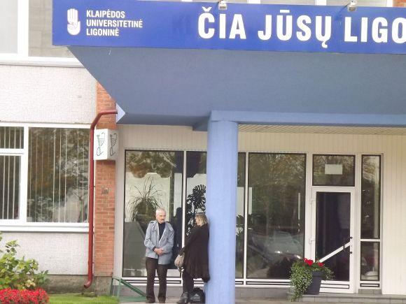 Daugiausia 2 proc. paramos sulaukė Klaipėdos universitetinė ligoninė.